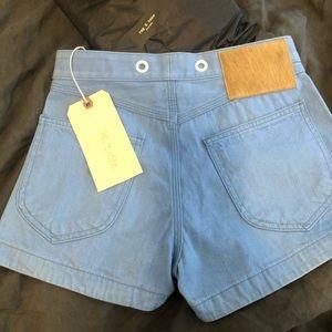 Rag & Bone high waisted shorts